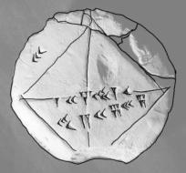 Babylonian math